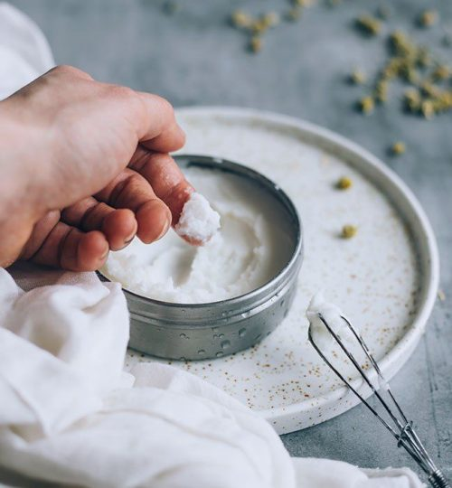 DIY Whipped Coconut Shea Baby Butter